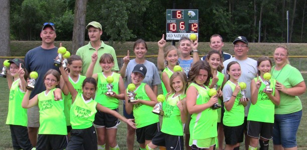 Shamrocks win Minor Softball Championship