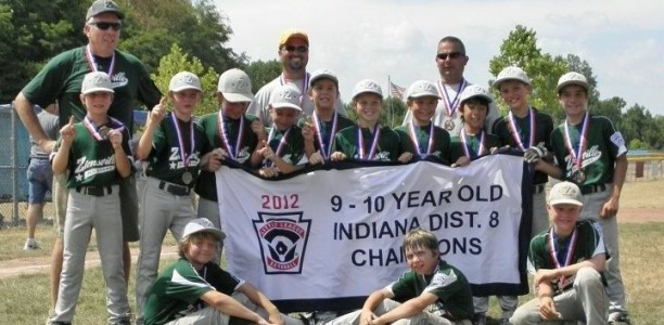 10U Green All-Stars win District 8 Tournament and advance to State
