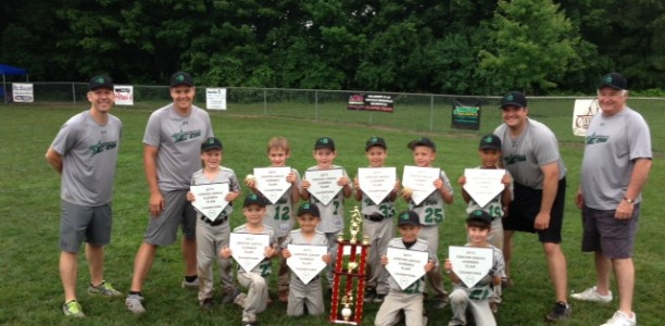 ZLL 6U All-Stars Claim Center Grove Summer Slam Championship