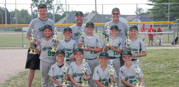 10U Green Wins Lawrence Lions Grand Slam Tournament