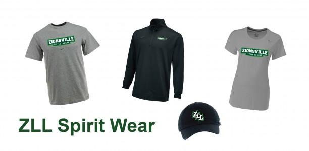 Show your spirit with new ZLL Spirit Wear