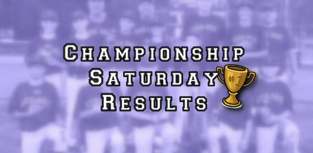 Championship Saturday Recap