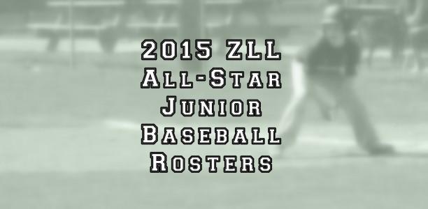 Junior Baseball All-Star Roster Announced
