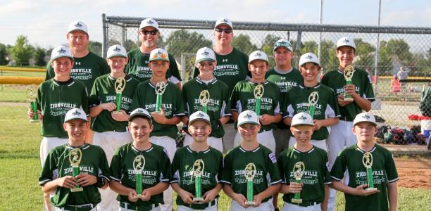 12U All-Stars Win Shamrock Invitational Tournament Title
