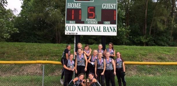 Majors Softball Wins District 8 Championship