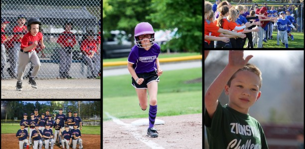 Registration for 2017 Rec Baseball and Softball is now open