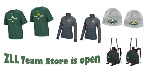 Big Baseball/Softball Gear and Spirit Wear Sale at the ZLL Team Store