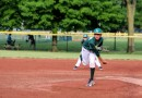 Player Pitch Baseball Tournament Field Narrows