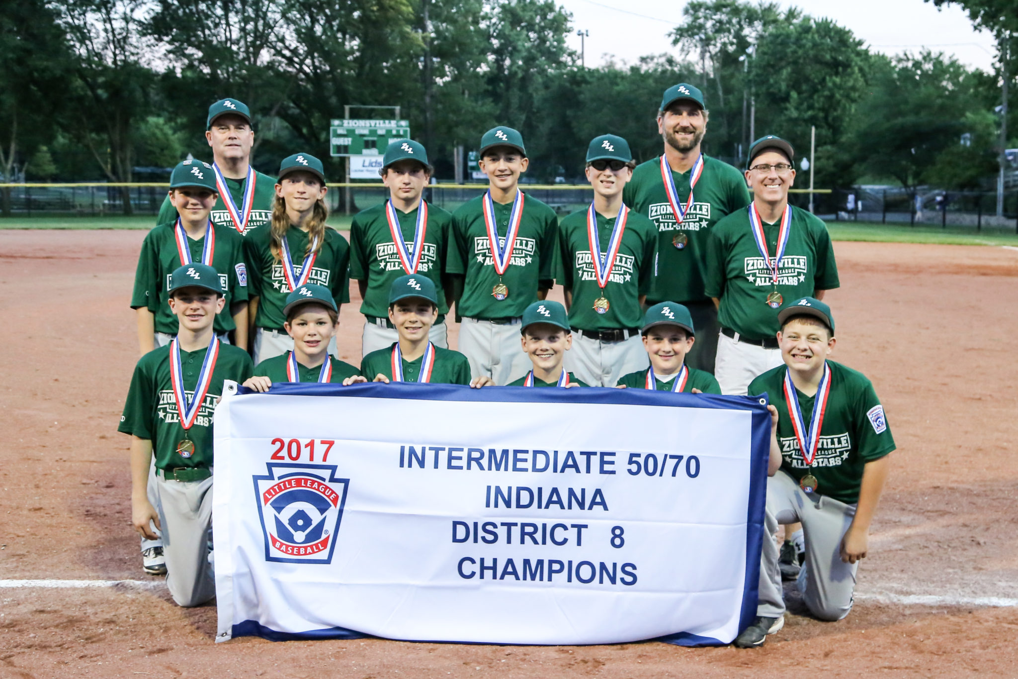 Zll 50 70 Team Advances To State Championship Game Zionsville Little League